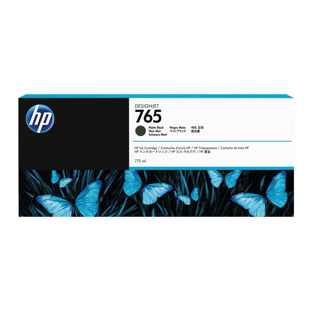 HP 765 Matte Black Ink Cartridge - C1Q17A