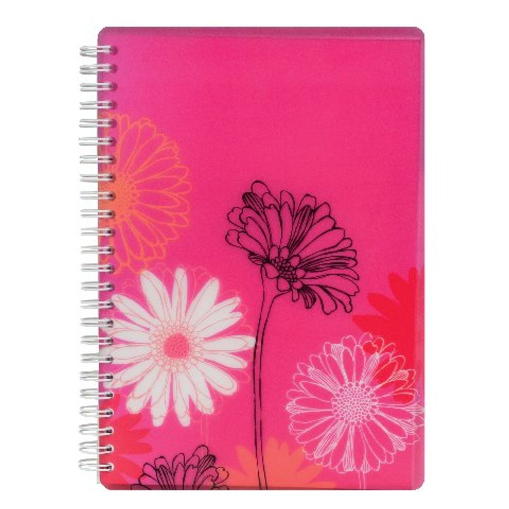 Go Stationery A5 Sketched Floral Gerbera Notebook - 5NC142