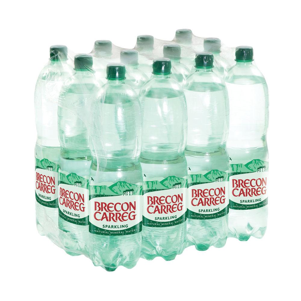 Brecon Carreg 1.5L Bottled Sparkling Water (Pack of 12) - 50075130056