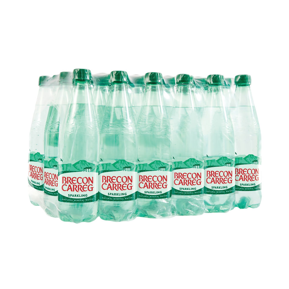 Brecon Carreg 500ml Sparkling Water (Pack of 24) - 50145030072