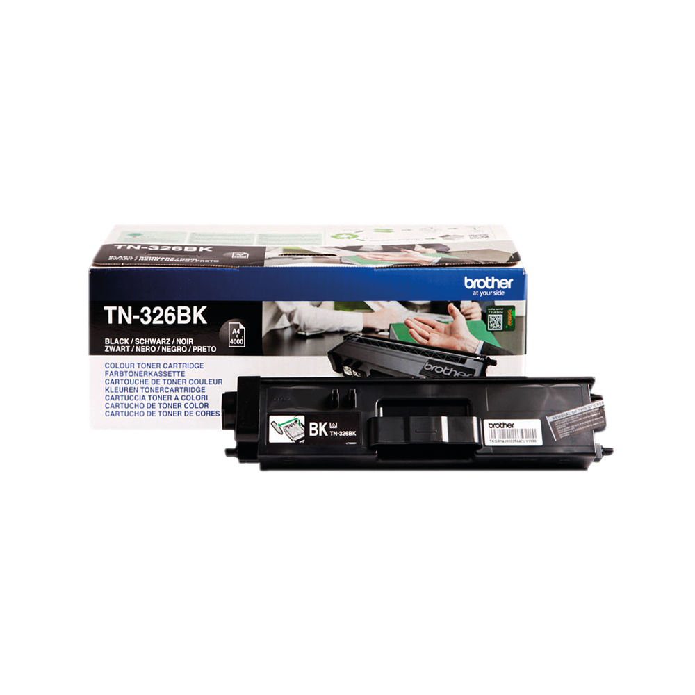 Brother TN326BK High Capacity Black Toner Cartridge - TN326BK
