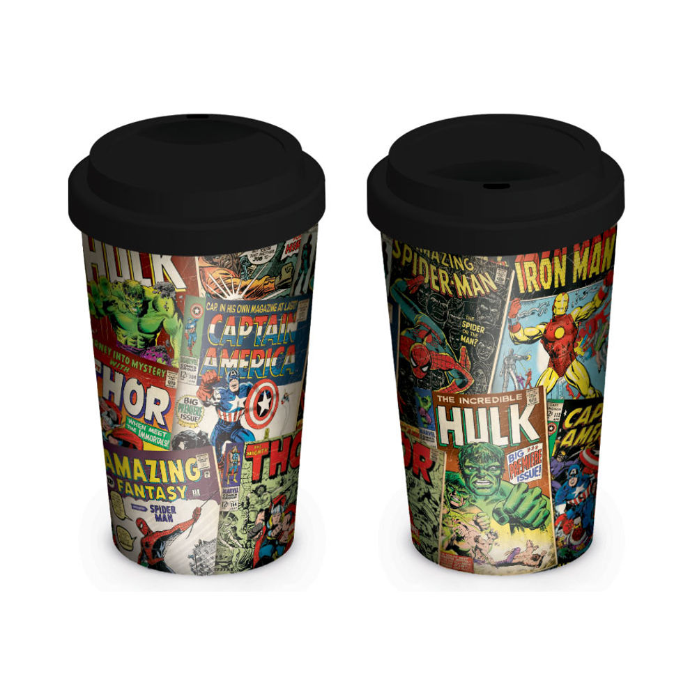 Marvel Retro Travel Mug - MGT23763