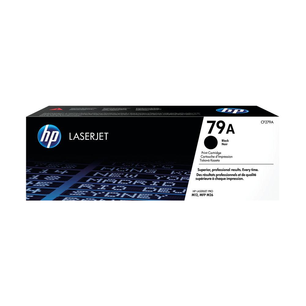HP 79A Black Toner Cartridge - CF279A
