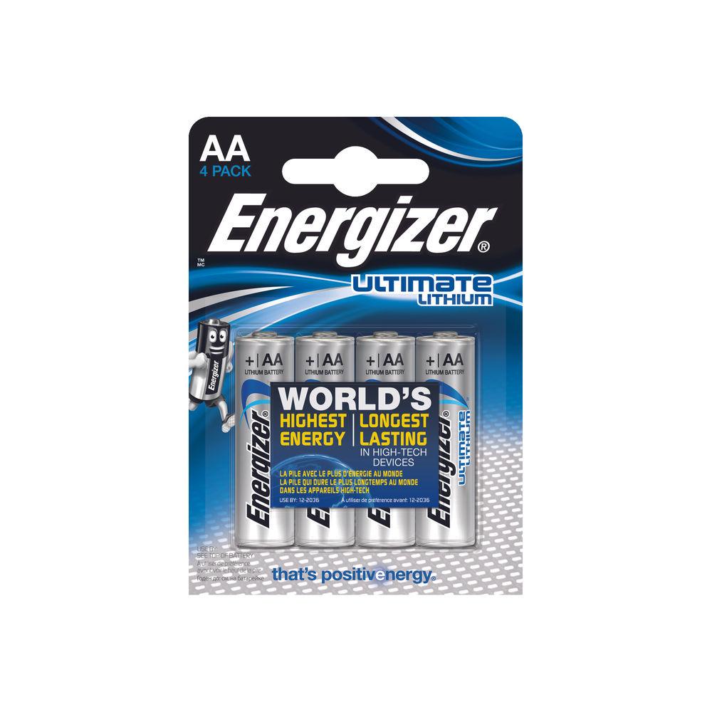 Energizer E2 Lithium Batteries AA - 626264