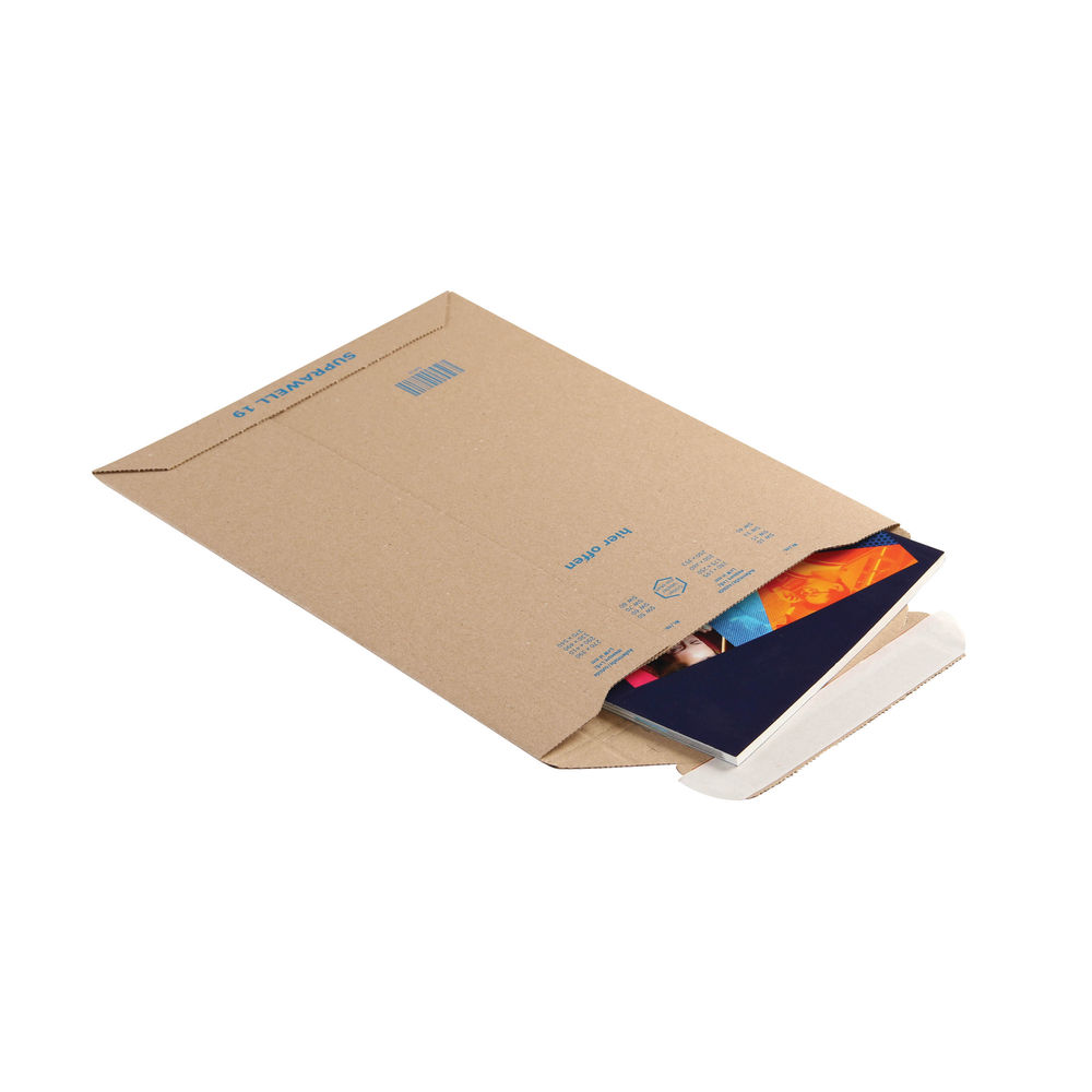 Blake A5 Corrugated Board Envelopes, Pack of 100 - PCE19