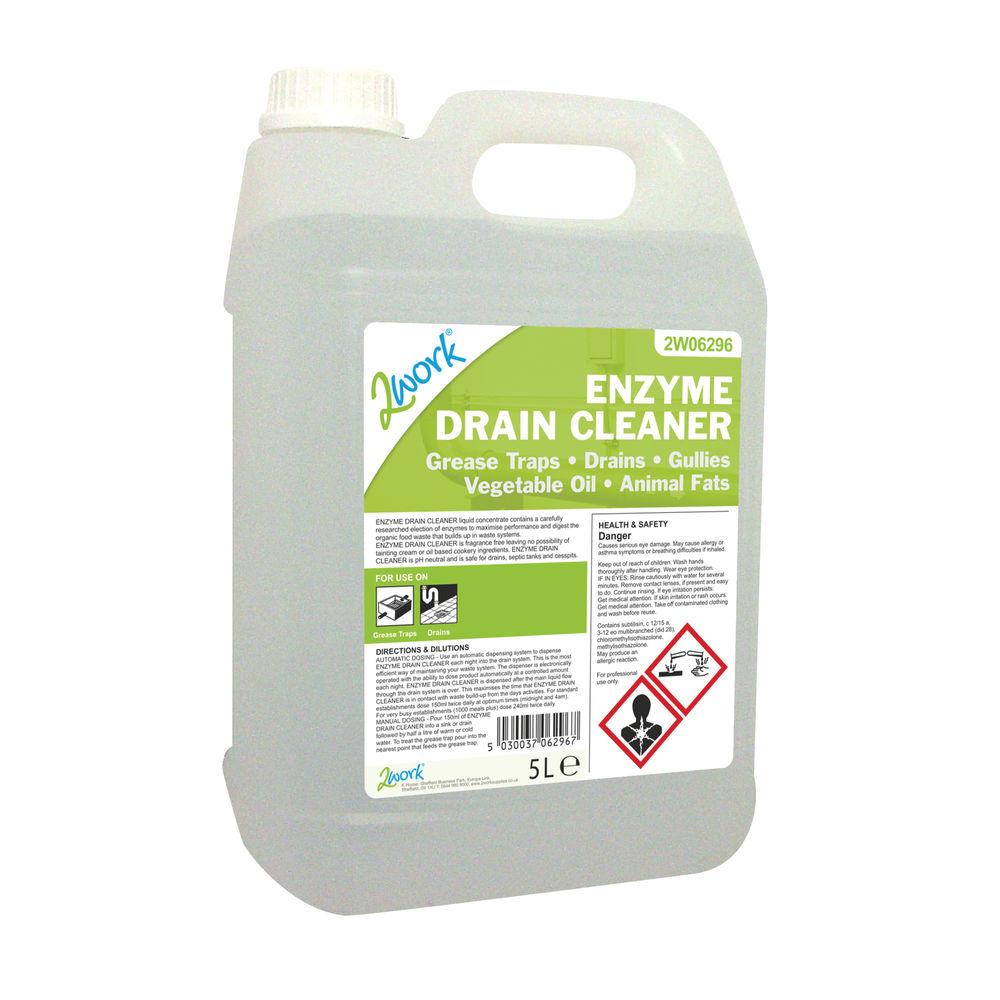 2Work Enzyme Drain Cleaner 5 Litre - 470 TFN