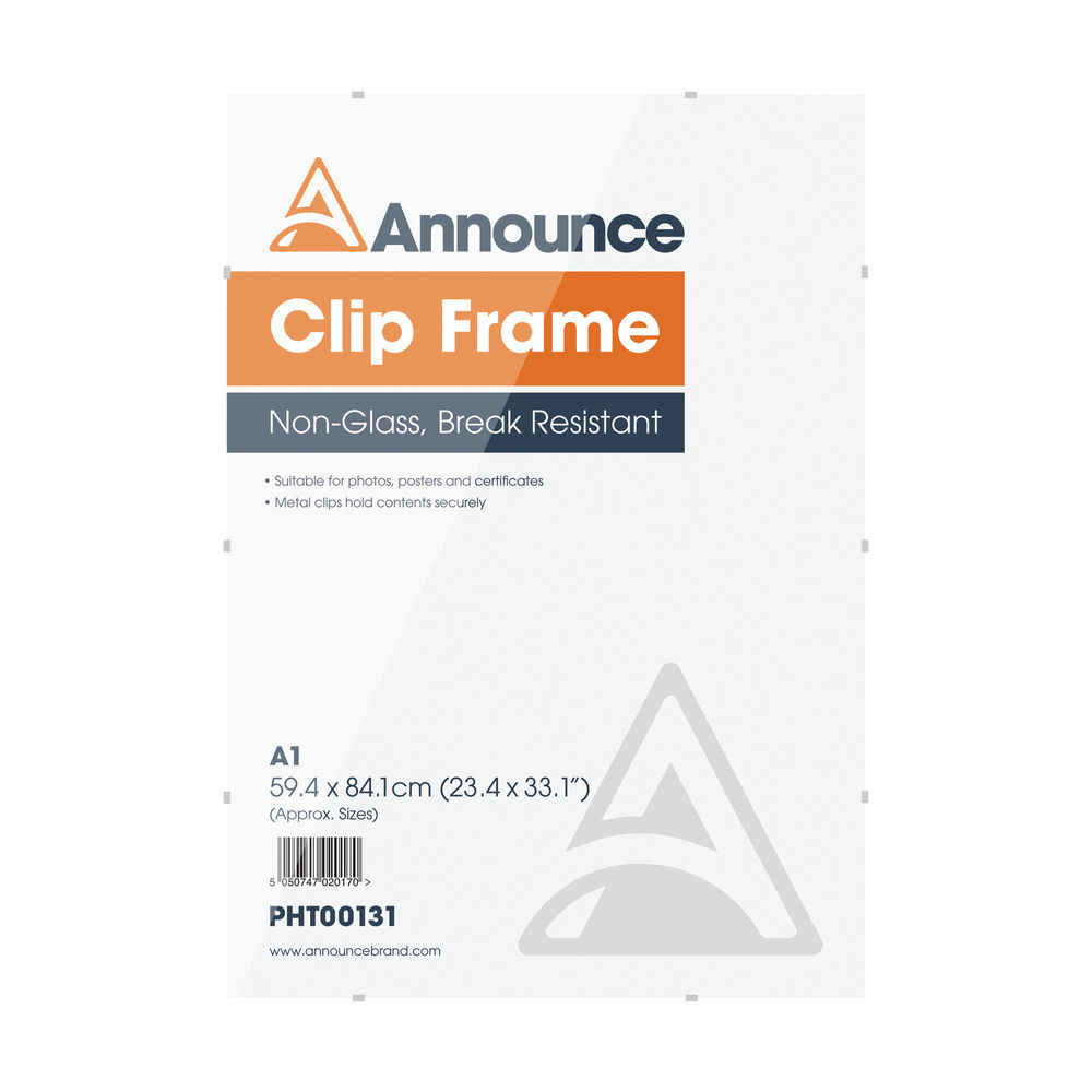Announce A1 Clip Frame - CF5984NG