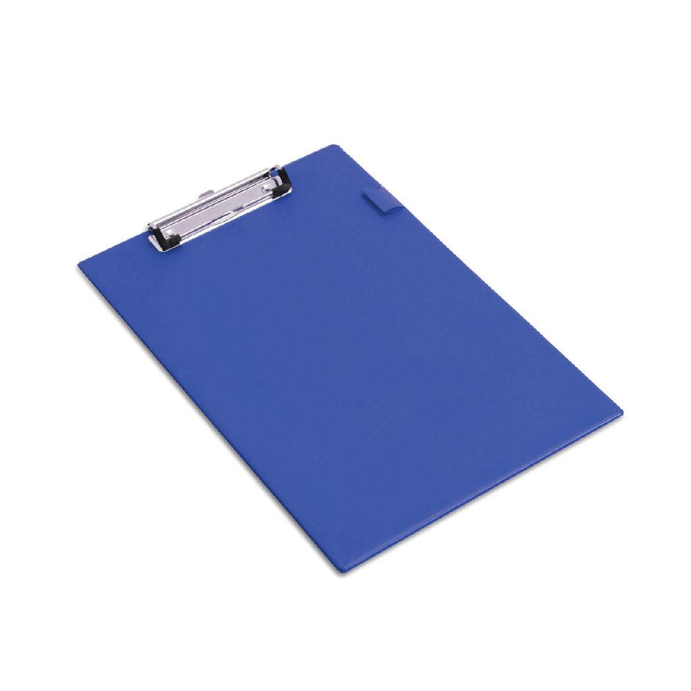 Rapesco Blue A4 Standard PVC Clipboard - VSTCB0L3