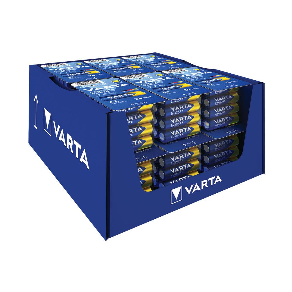 Varta High Energy Alkaline AA Batteries (Pack of 24) – 4906301124
