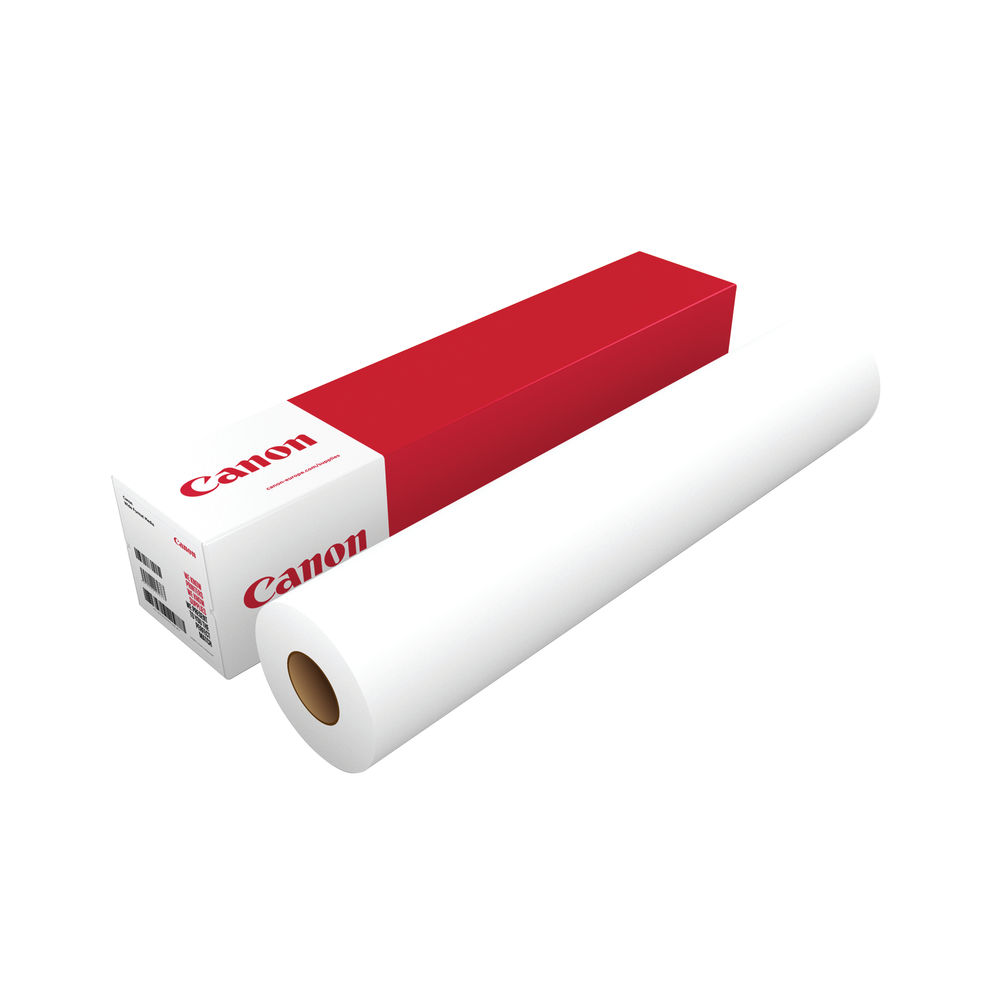 Canon Uncoated White Inkjet Paper 75gsm, 914mm x 91m - 97024714