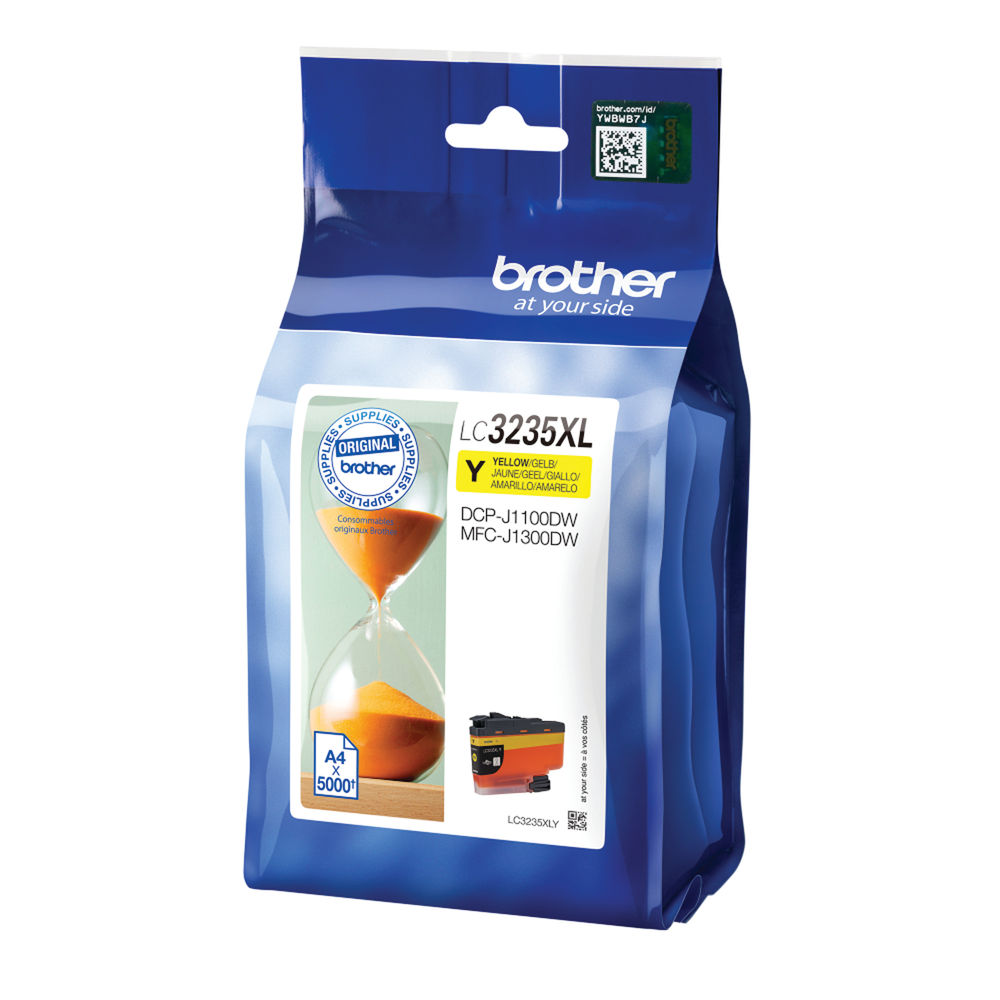 Brother Yellow Ink Cartridge LC3235XLY