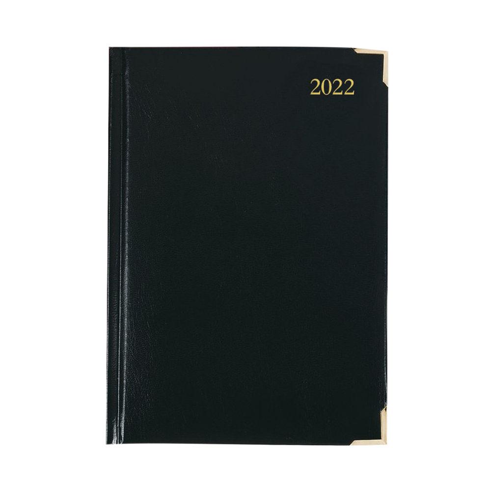 Executive Diary Day Per Page A4 Black 2022 KFEA41BK22