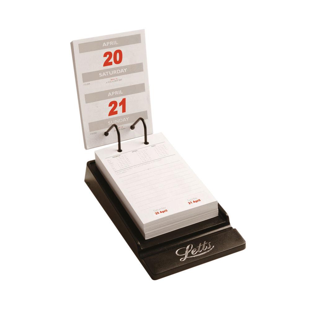 Letts System Desk Calendar 2022 22-TSDC