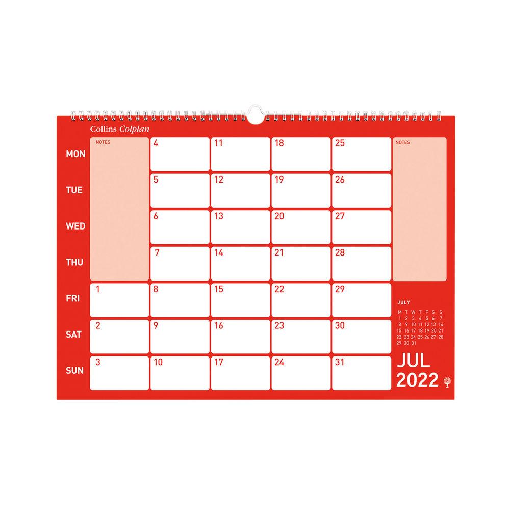 Collins Memo Calendar A3 2022 CMC