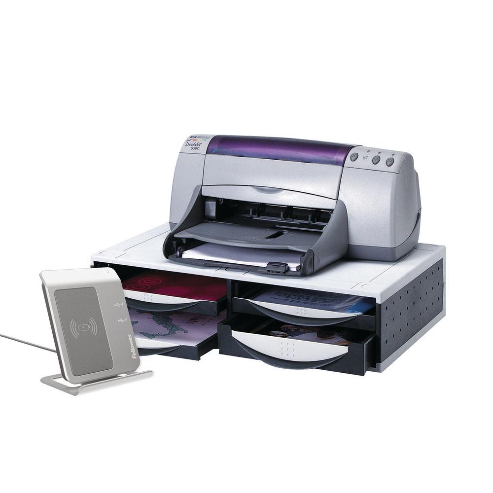 Fellowes Platinum/Grey Machine Organiser - 24004