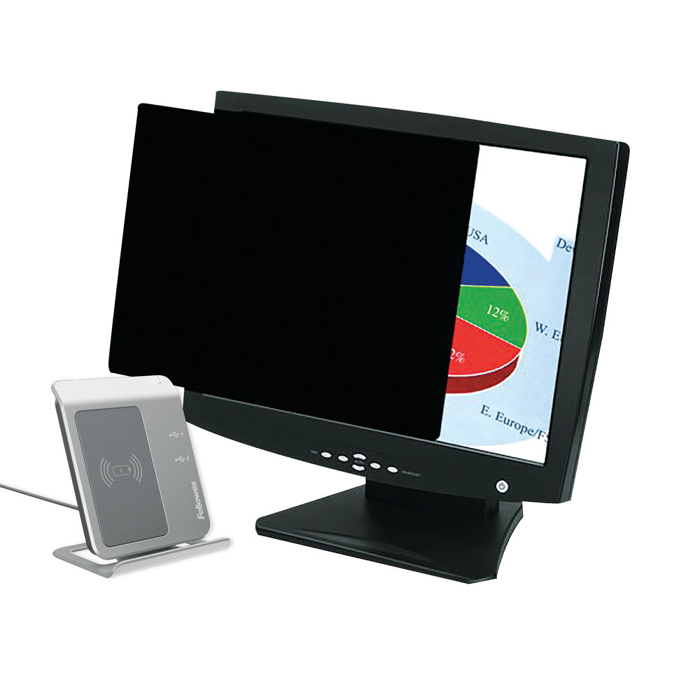 Fellowes Privascreen Privacy Filter Widescreen 19in - 4801101