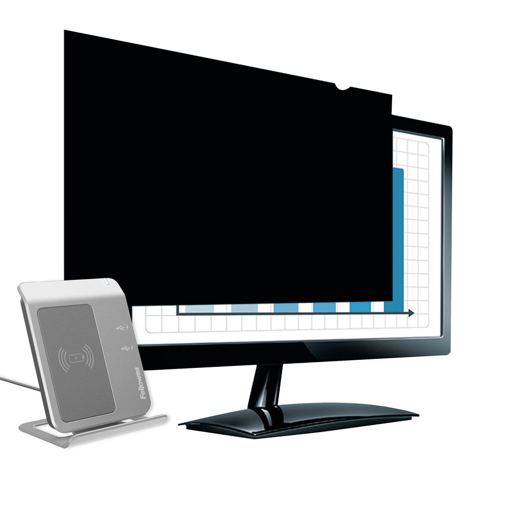 Fellowes PrivaScreen Privacy Filter Widescreen 23in 4807102