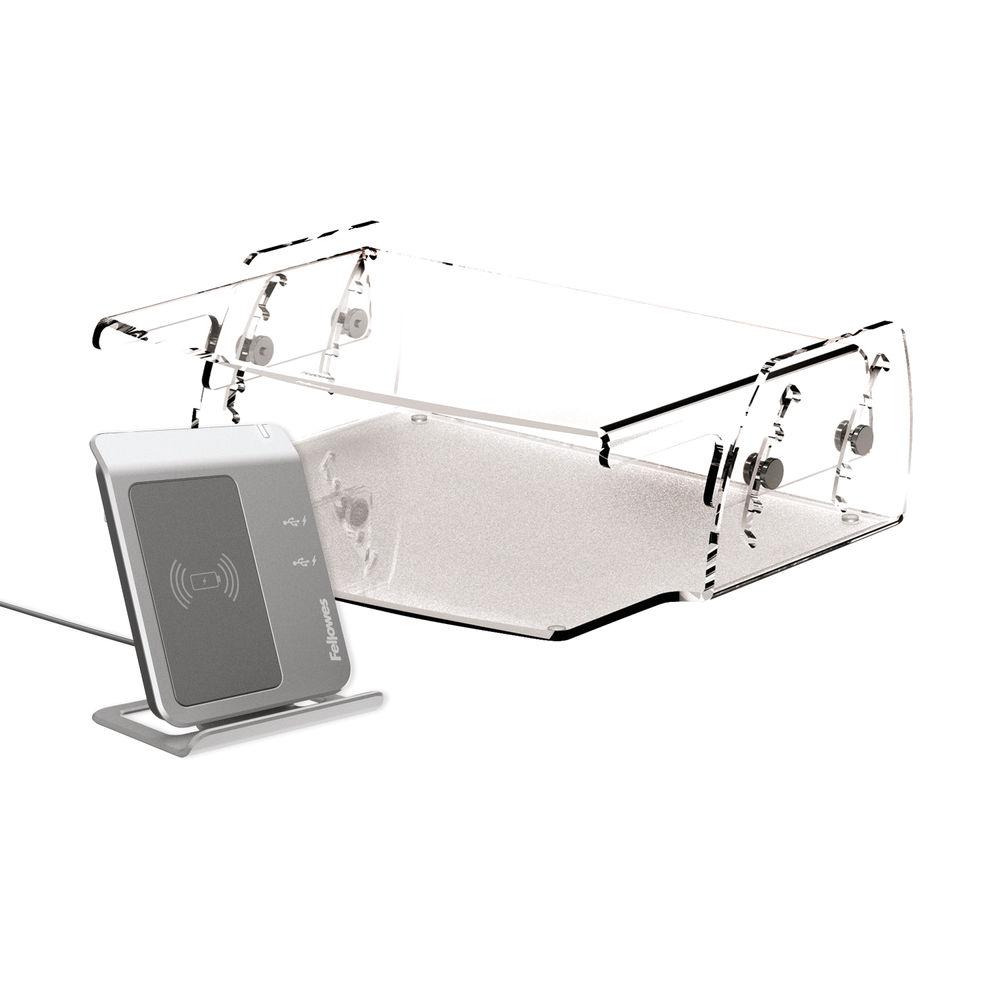 Fellowes Clarity Adjustable Monitor Riser 9731101