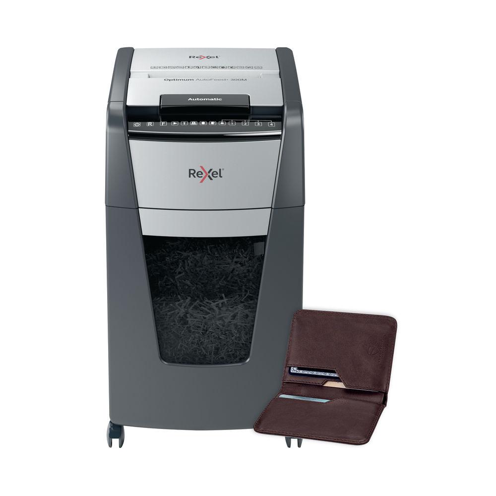 Rexel Optimum AutoFeed+ 300M Micro Cut Shredder - 2020300M