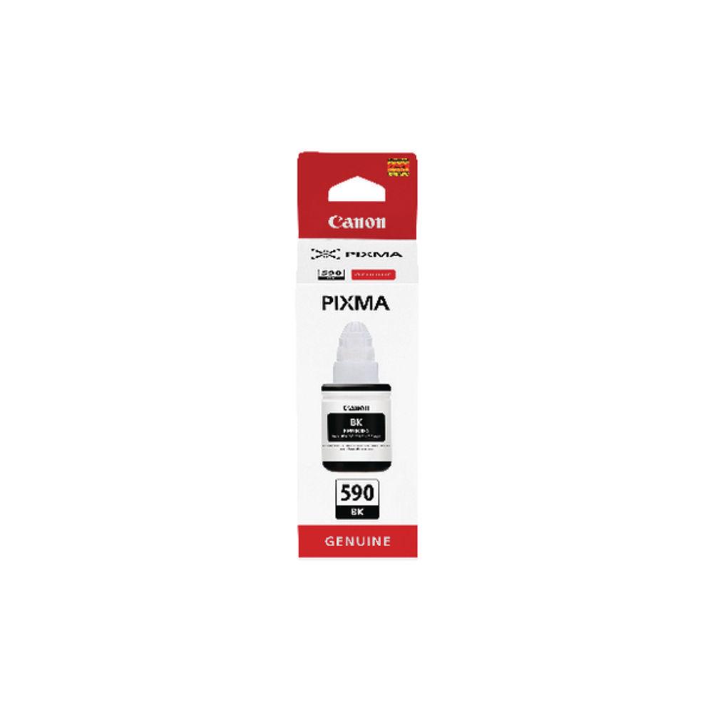 Canon Gi-590 Black Ink Bottle 1603C001