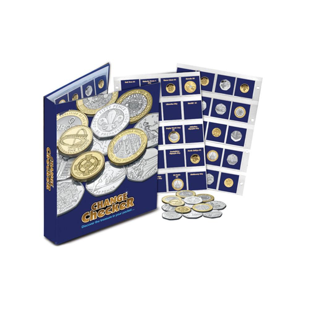 Change Checker Collectors Album - A-26890