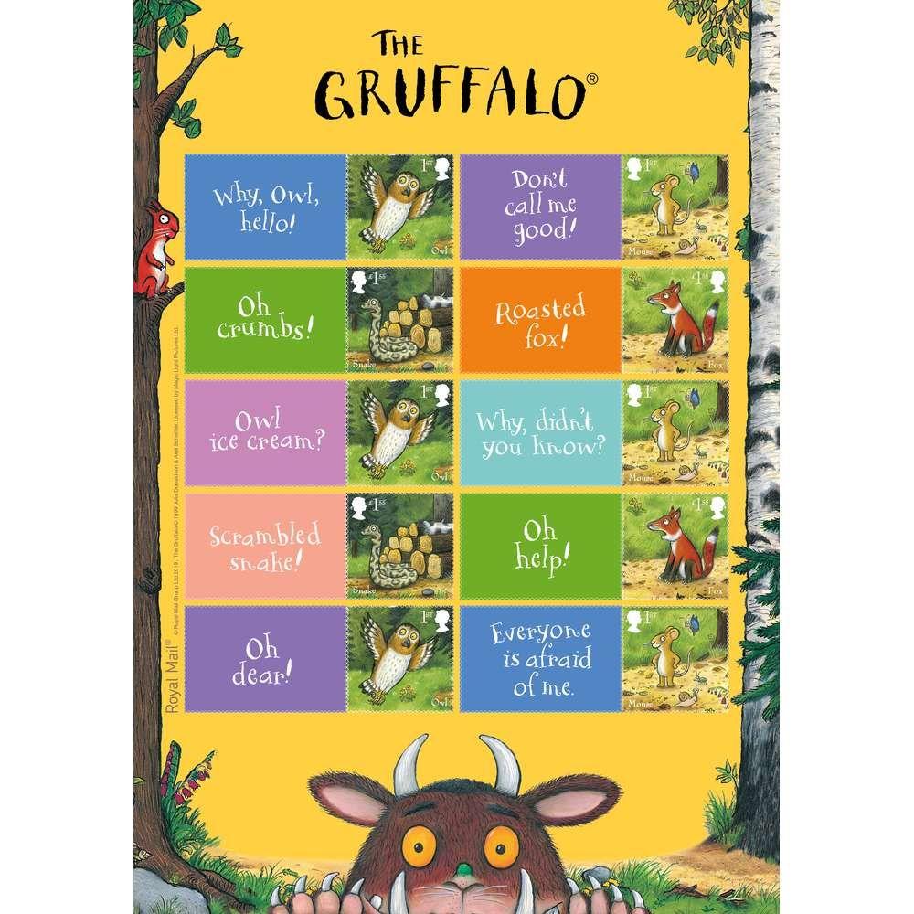 The Gruffalo Collectors Sheet