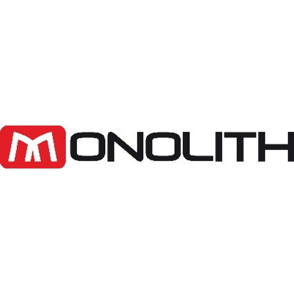 Monolith Expandable Black Briefcase - HM29330