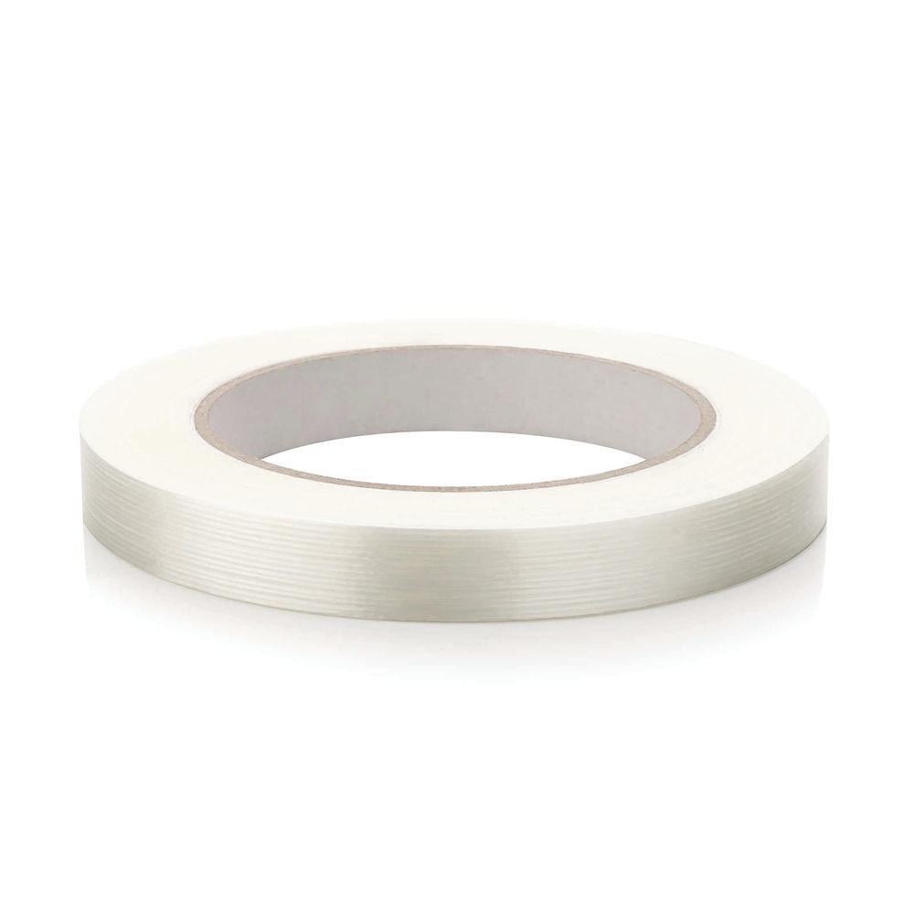 Monoweave Reinforced Tape 12mm x 50m Clear MR1250