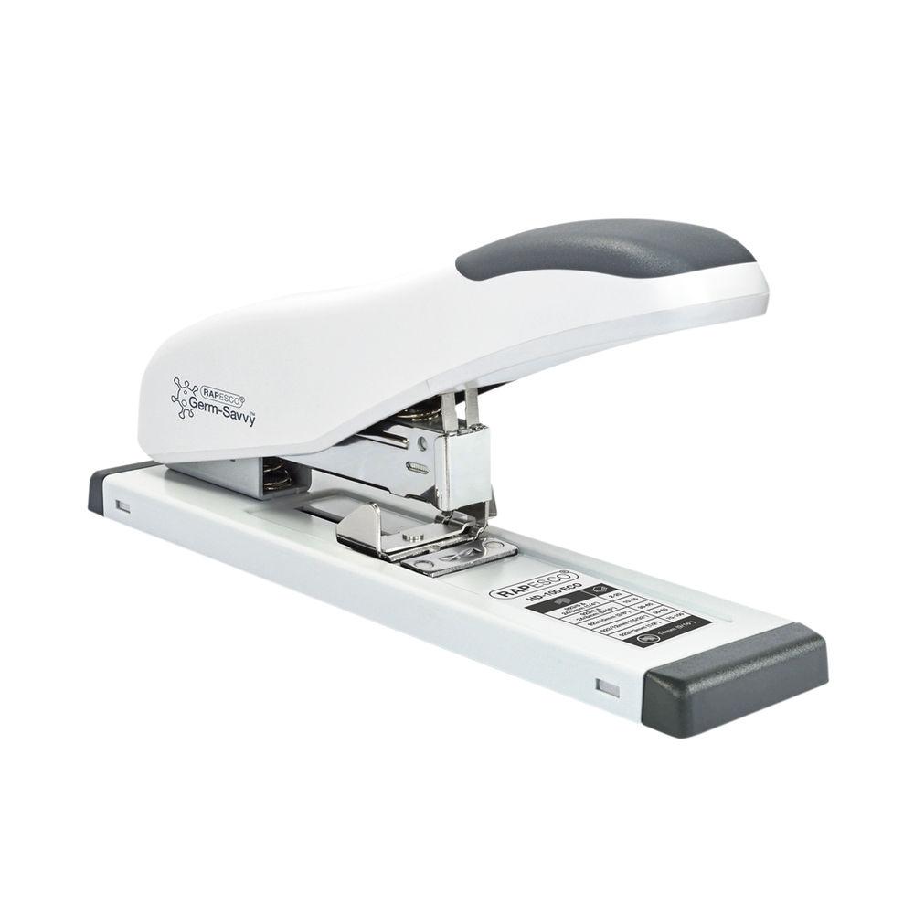 Rapesco Eco HD-100 Soft White Heavy-Duty Stapler – 1386