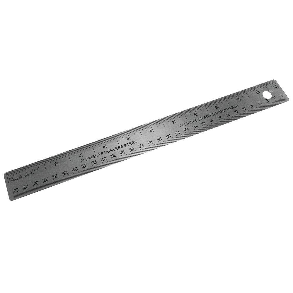 30cm Stainless Steel Ruler - 796900