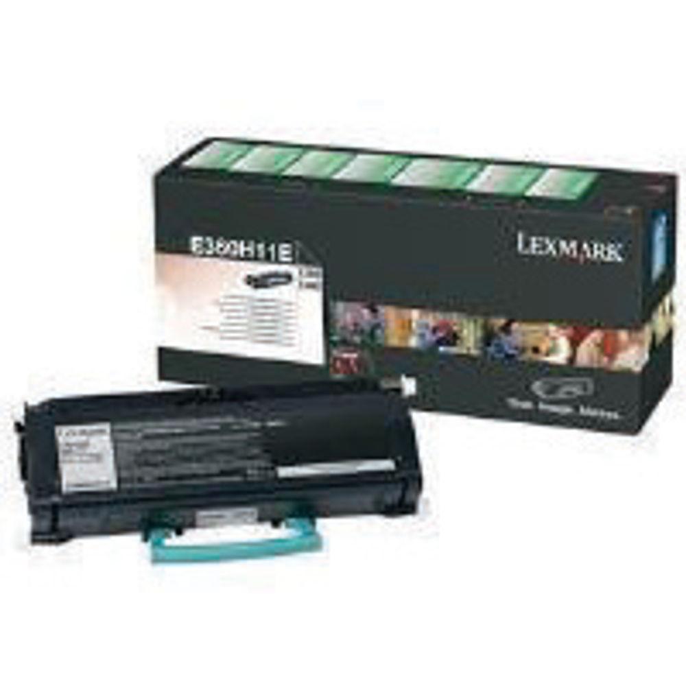 Lexmark E360 High Capacity Black Toner Cartridge - E360A31E