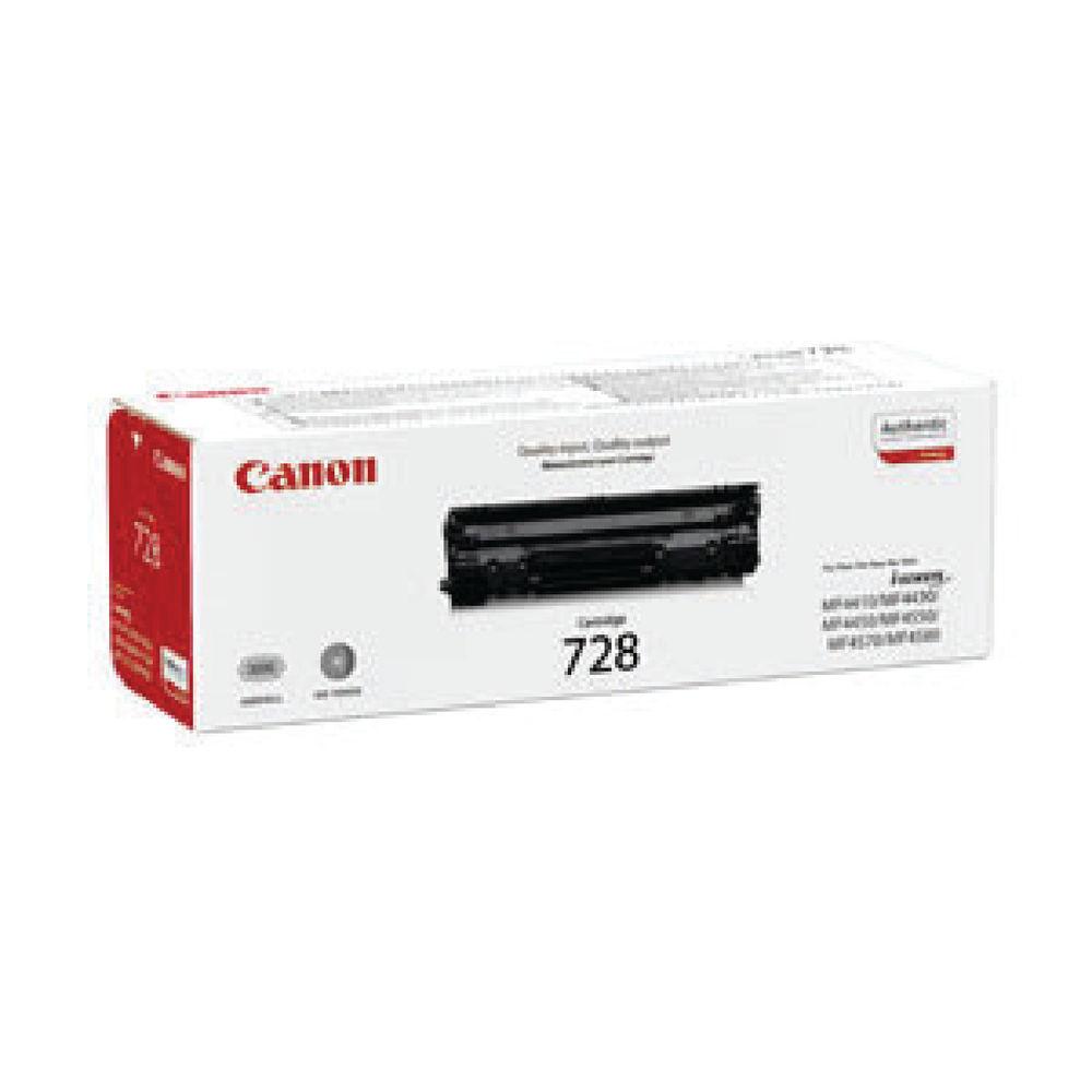 Canon 728 Standard Capacity Black Toner Cartridges 3481B002AA