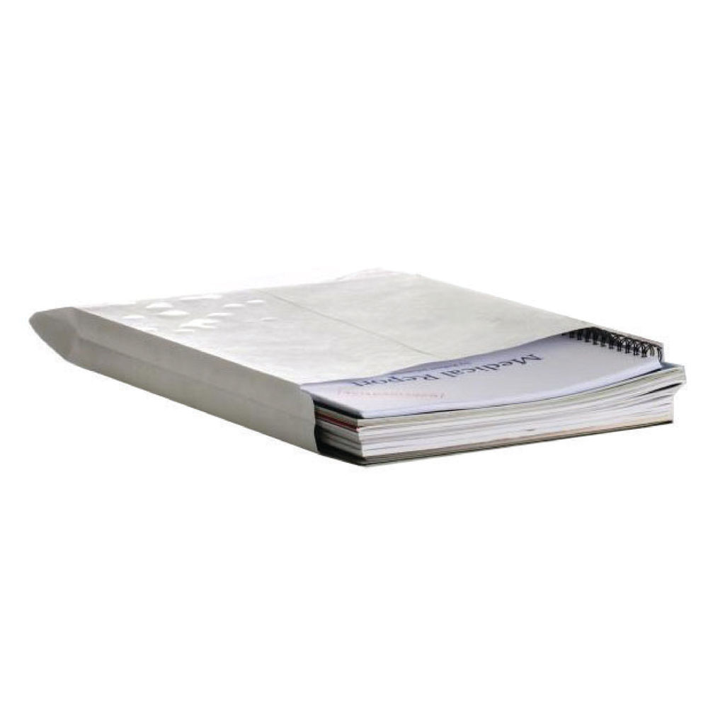 Q-Connect White C4 Gusset Peel and Seal Envelopes 120gsm, Pack of 125 - KF02890