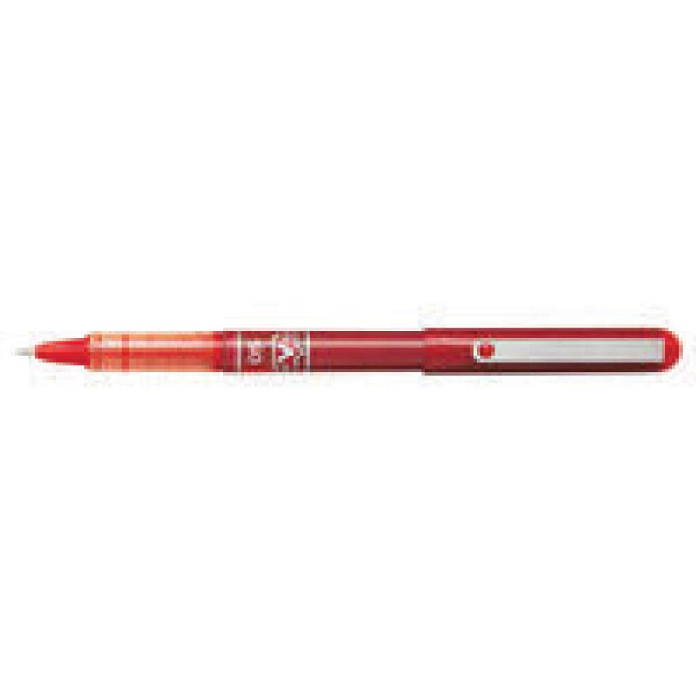 Pilot V Ball Red Rollerball Pens, Pack of 12 - BLVB5 RED