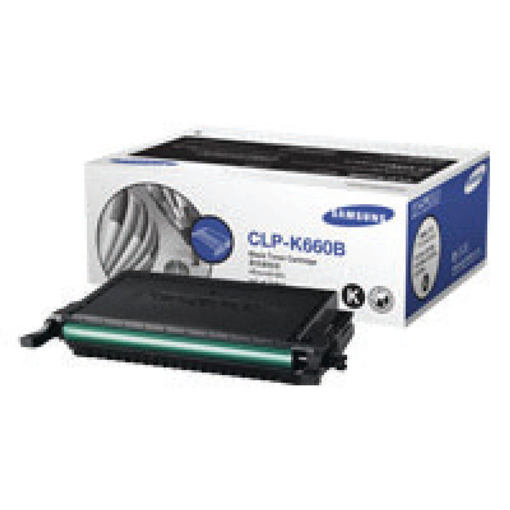 Samsung CLP-660 Black Toner Cartridge - High Capacity CLP-K660B/ELS