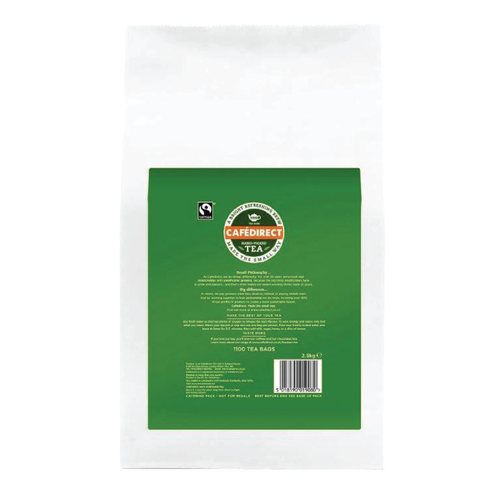 Cafe Direct Fairtrade Everyday Tea Bags - Pack of 1100 - GAL01908