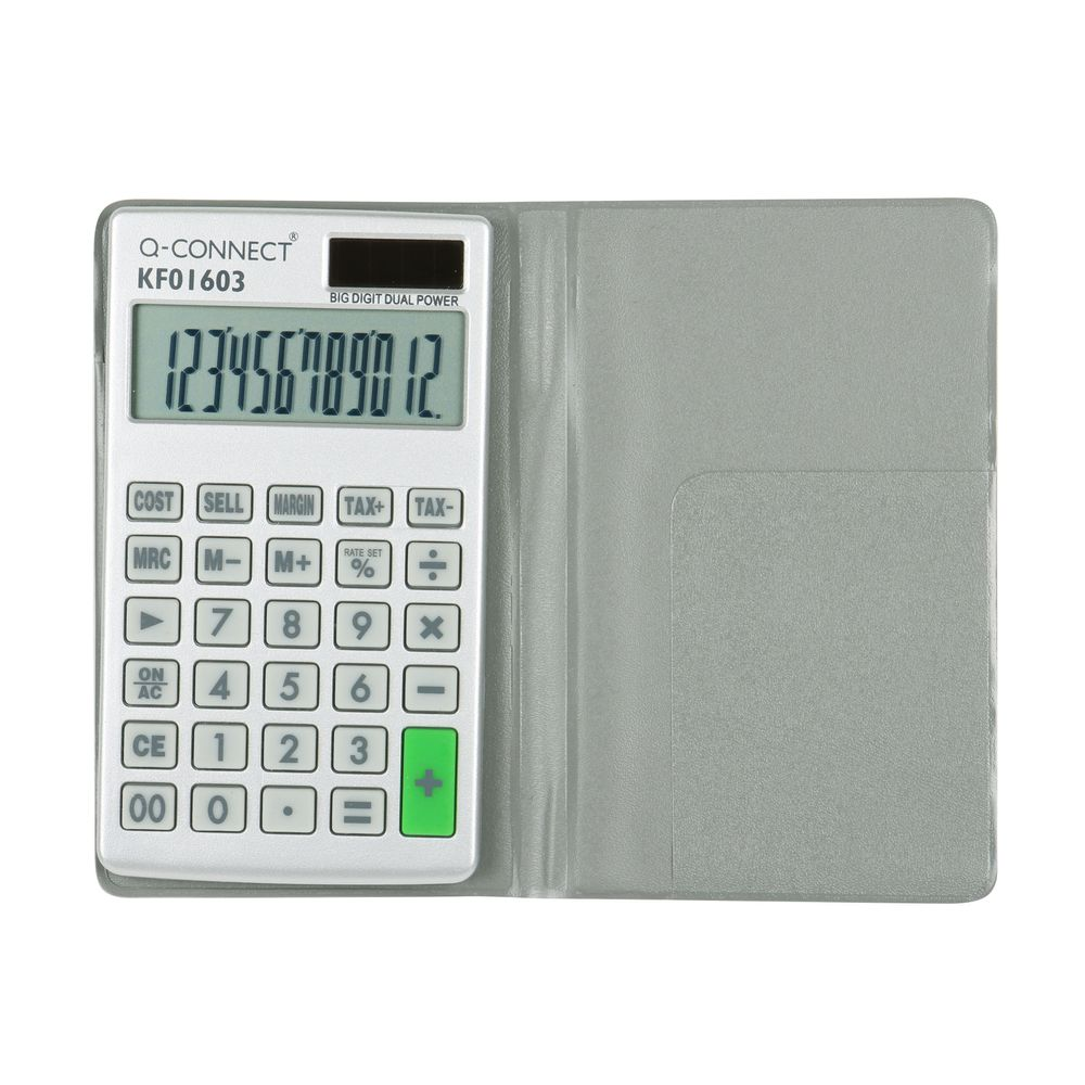 Q-Connect Large Pocket Calculator - KF01603