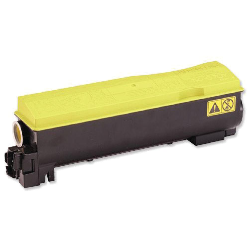 Kyocera TK-570Y Yellow Toner - TK-570Y