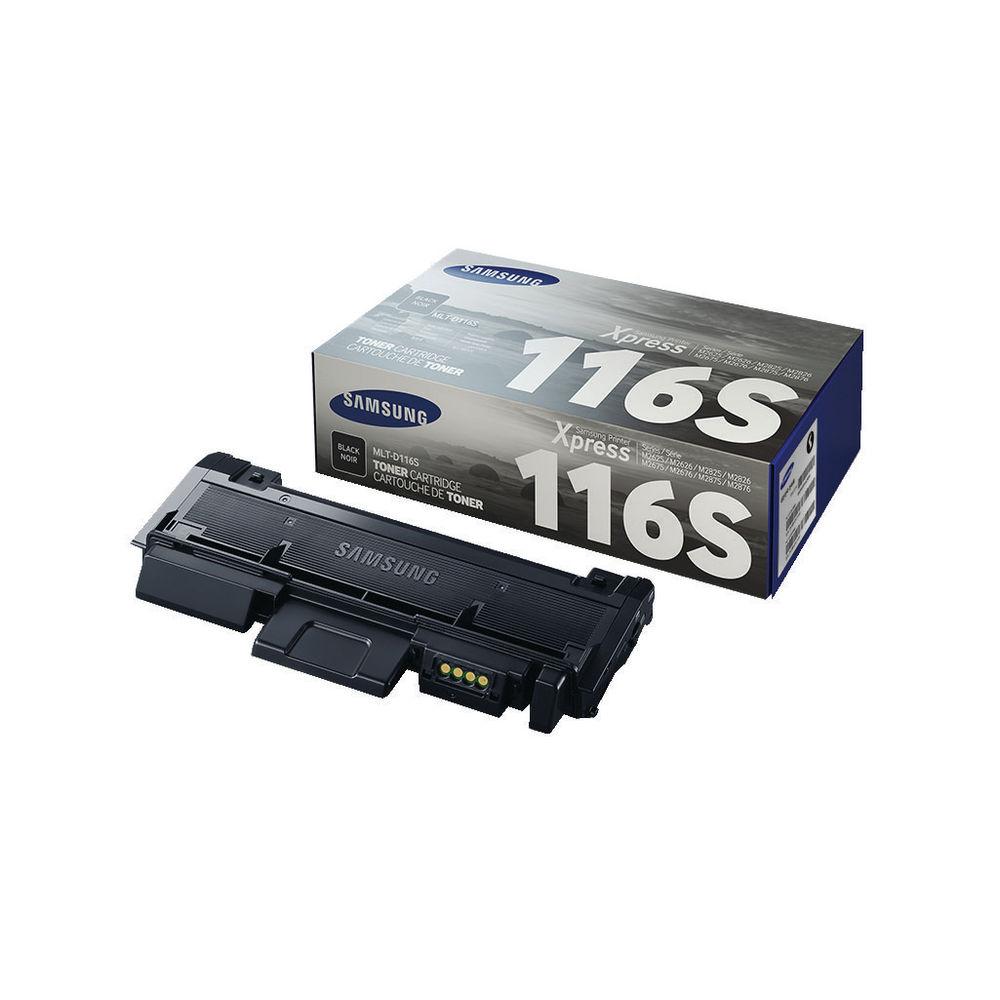 Samsung MLT-D116S Black Toner Cartridge - SU840A