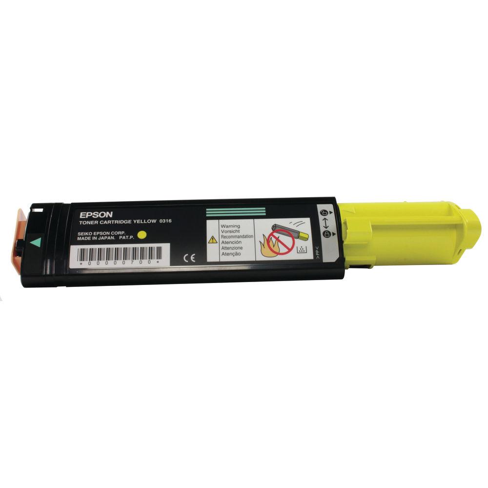 Epson CX21 Yellow Toner Cartridge - C13S050316