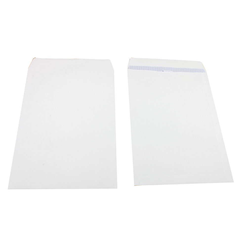 Q-Connect White B4 Plain Self Seal Envelopes, 100gsm – KF02896