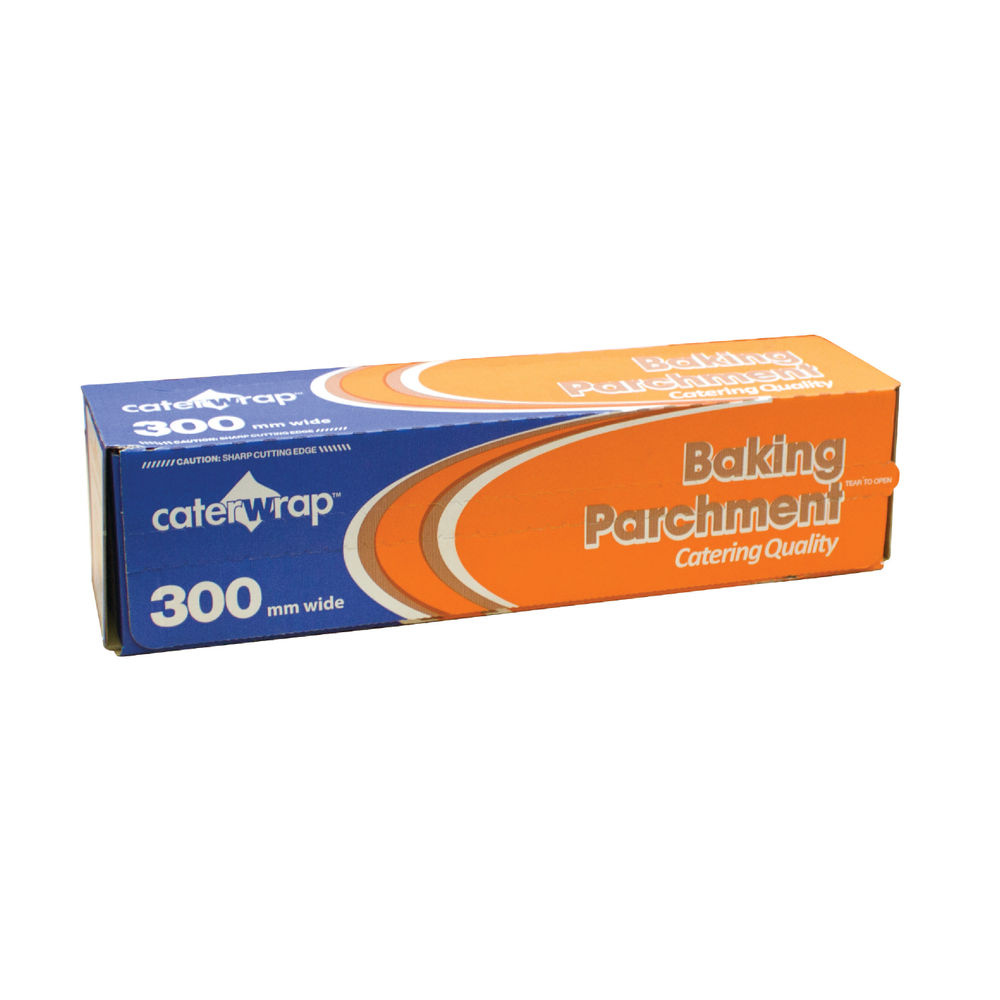Caterwrap Baking Parchment Paper 300mmx75 Metres 21C26