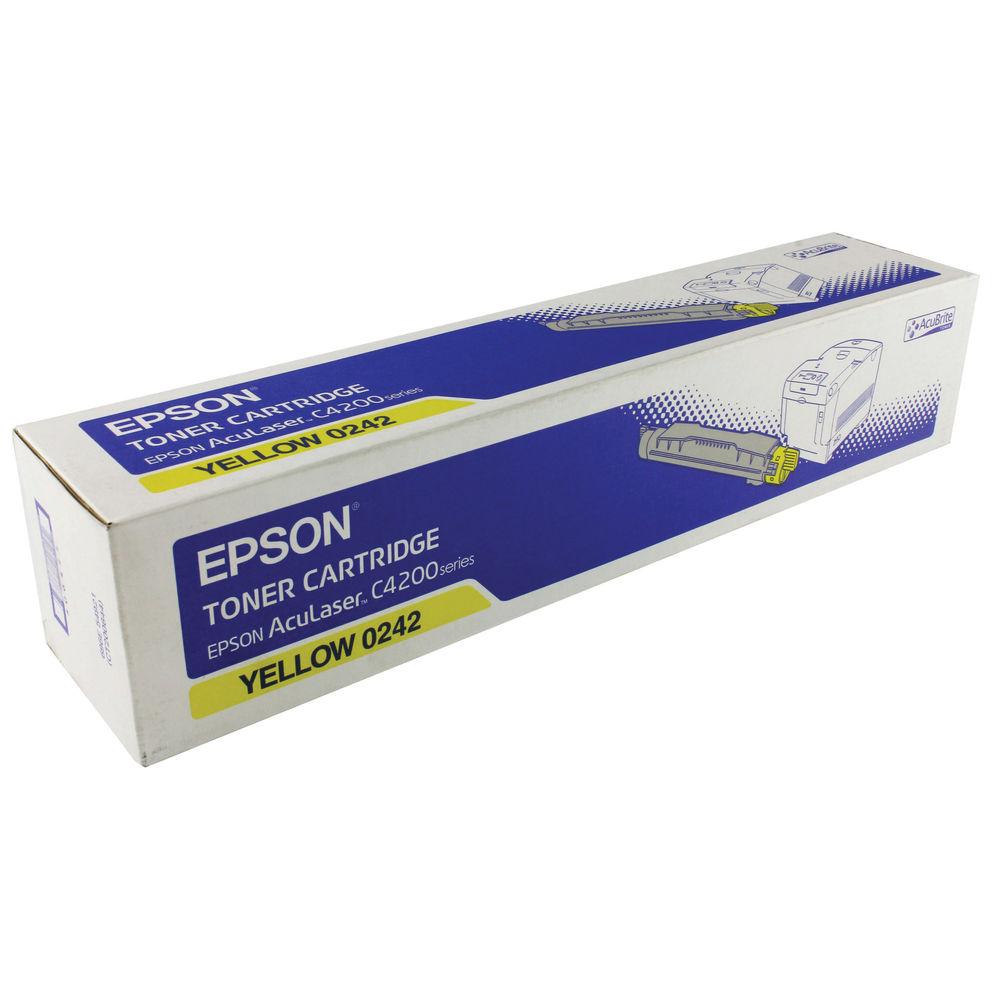 Epson S0502 Yellow Toner Cartridge C13S050242 / S0502