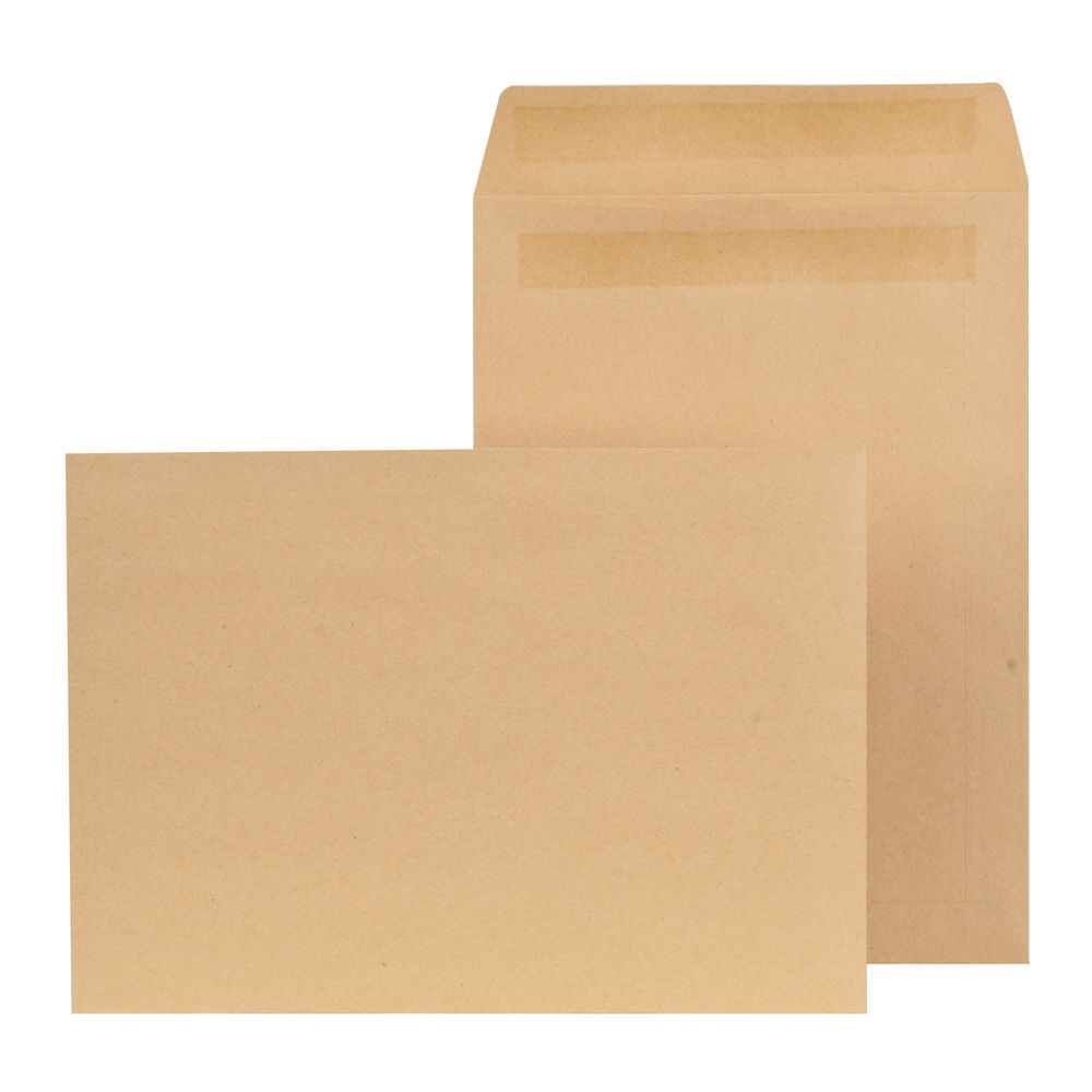 New Guardian Manilla Self Seal C4 Envelopes 90gsm - Pack of 250 - K26309