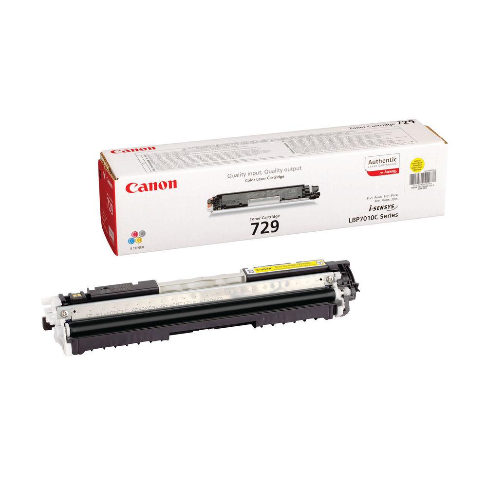 Canon 729 Yellow Toner Cartridge 4367B002AA