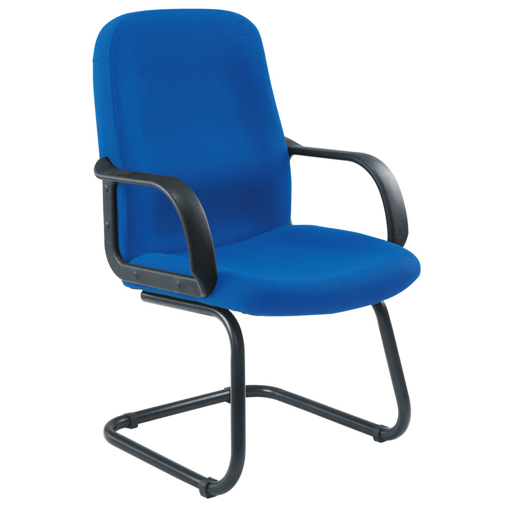Jemini Loxley Blue Visitors Chair