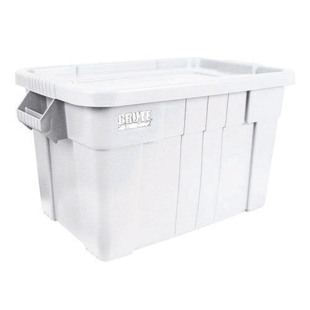 VFM 75 Litre White Brute Tote Box - 382217