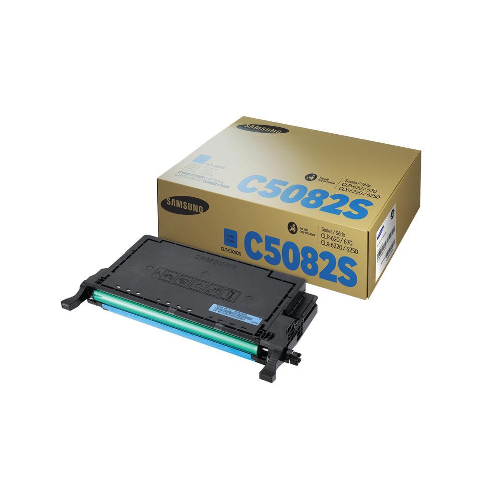 Samsung CLT-C5082S Cyan Toner Cartridge | SU056A