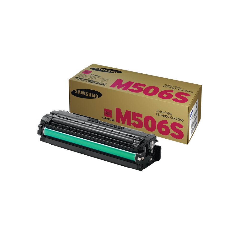 Samsung CLT-M506S Magenta Toner Cartridge - SU314A