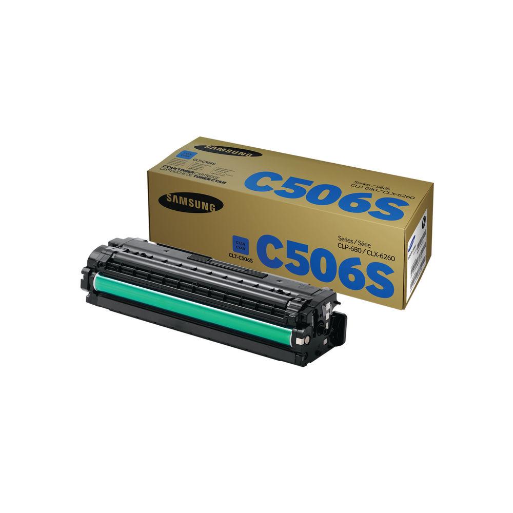 Samsung C506S Cyan Toner Cartridge - CLT-C506S/ELS